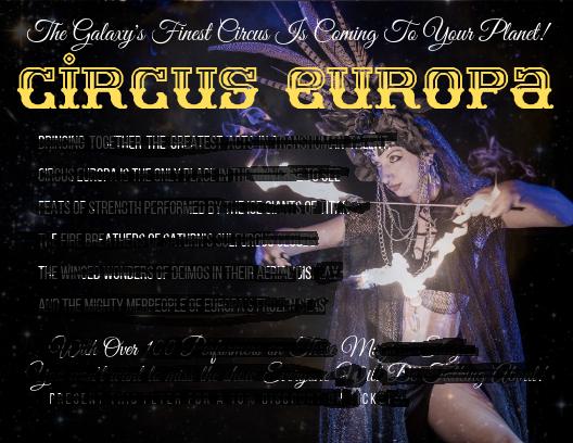 Circus europa blackout